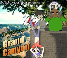 Grand Canyon Scene by angel-maxwell