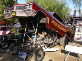 Buick powered Funny Car by Jetster1
