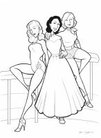 The Puppini Sisters by BevisMusson