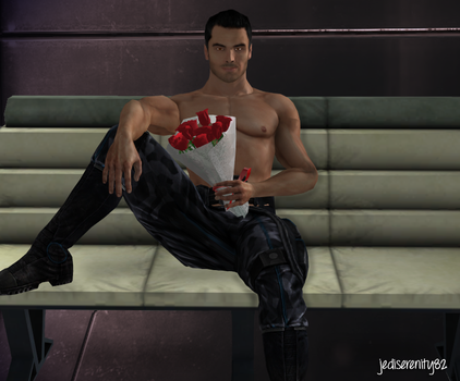 Happy Birthday - Kaidan Alenko {Mass Effect} by jediserenity82