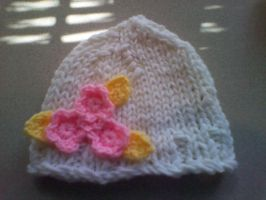 Flower Child Beanie by CreationsbyJolie