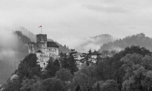 Fog Over Castle by ixada