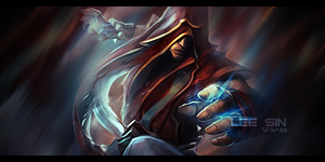 Lee Sin Signature by VulcanicGFX