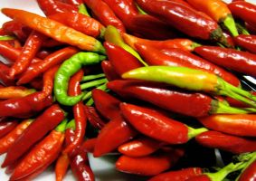 Chilly peppers by Piombo