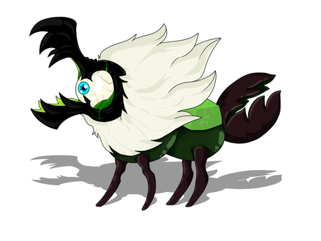 Beetle the freaking Centipeedle by SubVisser-MAG-1042