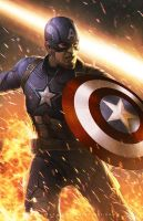 Captain America - Civil War by erlanarya