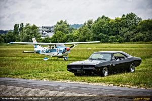 black 1969 dodge charger IV by AmericanMuscle