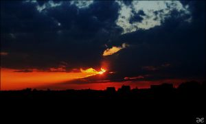 another sunset I by rosarot
