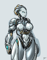 Robot Girl by N647