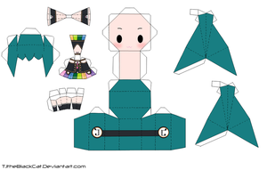 Downloader Miku Papercraft by Tamuu-ii