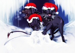 Cerberus Winter by MMGPeve