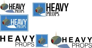 Heavy Props Logo Design by mooseace