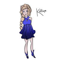 Kalliope Colored by Ask-Kalliope