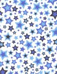 Blue and Navy Stars by FredtheCow-Stock