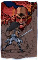 Attack On Titan Coloured by Count-KraumBurger1