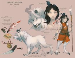 Character Sheet: Sunder by skulldog