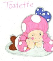 Toadette pic by BunearyK