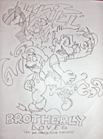 Brotherly Love: Fanart by DPhantomartist