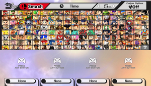 Super Smash Bros. (2016 Final Roster) by DENDEROTTO