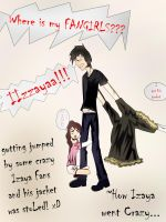 Izaya getting Crazy!!! by Ssabinka