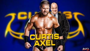 Curtis Axel WWE Wallpaper w/ Paul Heyman 2013 by BradleysGFX