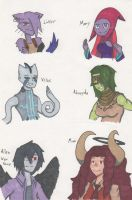 Haunted Library OC Drawings 16 by Deterex525