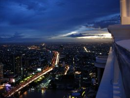 Bangkok from the 84th floor by 0149