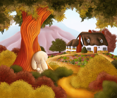 Pathway To Home by parochena