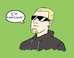 I'm awesome by Paups