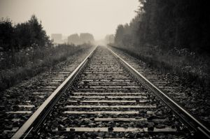 Railroad Track by J-PN
