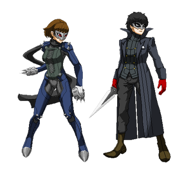 Persona 5 pixel Art by kollp