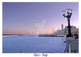Bari Seafront by Geanfrancois