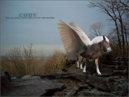 Cody with wings by rhinebeck