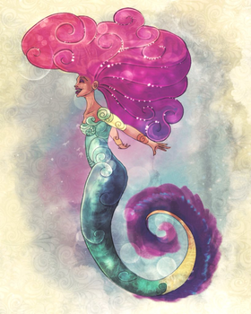 Evelyn Mermaid by TheSylverLining