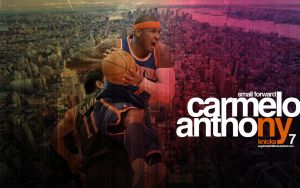Melo New York Knicks Wallpaper by IshaanMishra