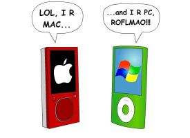 Mac vs PC by DrewtheMew