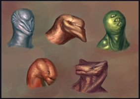 Critical Head Studies by CBSorgeArtworks