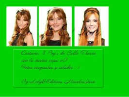 Bella Thorne BY Loly&Editions by Moralesiara