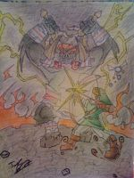 Ocarina of Time Link vs. Ganon by Twinkie5000
