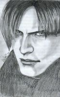 Leon Scott Kennedy by Bdellian