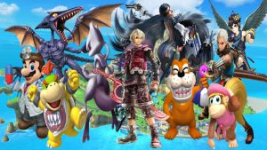 Super Smash Bros Wii U and 3DS NewComers II by DarkManGc