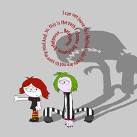 Ruby Gloom and Betelgeuse - Save Me by TheDisney1901atDA