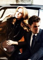 Candice and Paul by ToriaChernenko