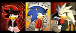 -PC- Three Musicians, Three Hedgehogs by SQuietSonamy