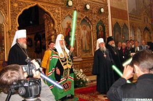 Ceremony of the jedi knight by Evarian
