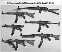 Sturmgewehr 44 Family by Splinter54