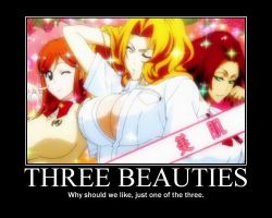 Bleach Three Beauties by trebor469