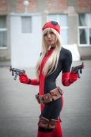 Lady Deadpool by Mika-Kallahan