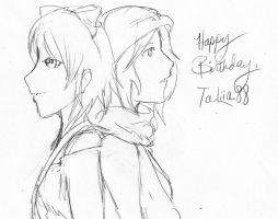 Happy Birthday, TaLiia88! by CrypticGrin