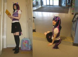 Twilight Sparkle Q-Con Cosplay by LadyDraconic